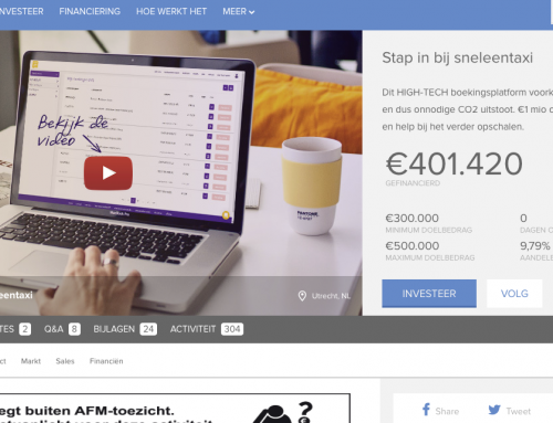 Crowdfunding campagne Brancheteers